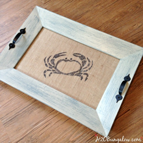 Upcycled old picture frame into serving tray plus 14 more clever ways to repurpose and upcycle old stuff. DIY project ideas to inspire you to create new uses for old items into pretty and functional home decor.