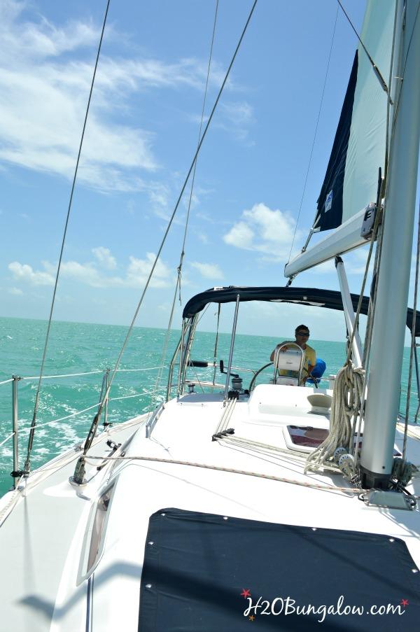 Sailing to Key West H2OBungalow
