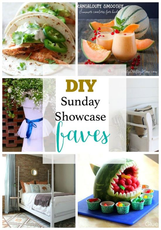 DIY Sunday Showcase features of the week