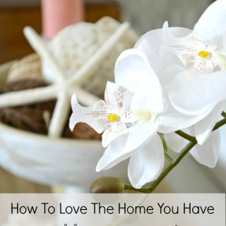 A well decorated home is curated and collected over time. My five top tips to help you learn how to love the home you have with simple decorating ideas. H2OBungalow