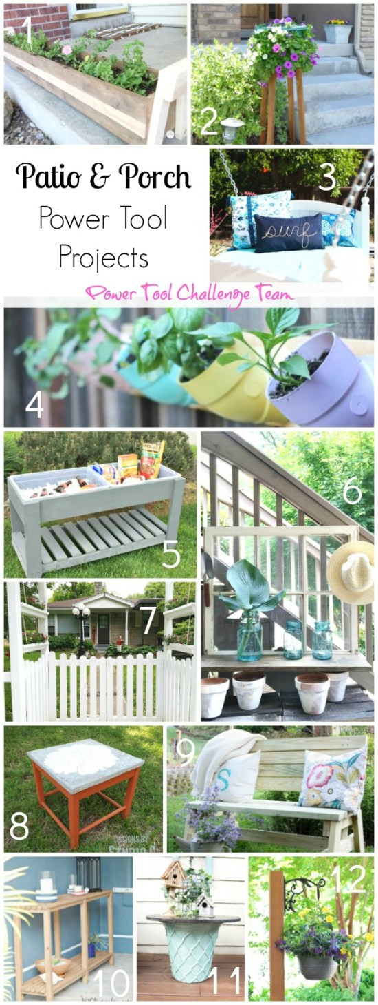 Patio and posrch DIY projects for spring H2OBungalow