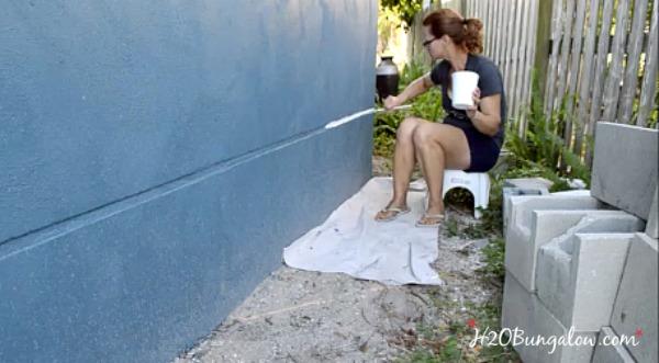 paint-trim-touch-up-after-using-power-flo-pro-paint-sprayer-2-H2OBungalow