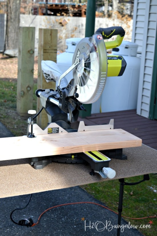ryobi-miter-saw-for-media-stand-project-h2obungalow