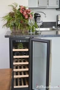 DIY Built In Wine Cooler - H20Bungalow