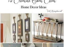 16 Super Creative Boat Cleat Decorating Ideas - H20Bungalow