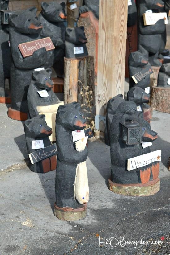 chain saw bears