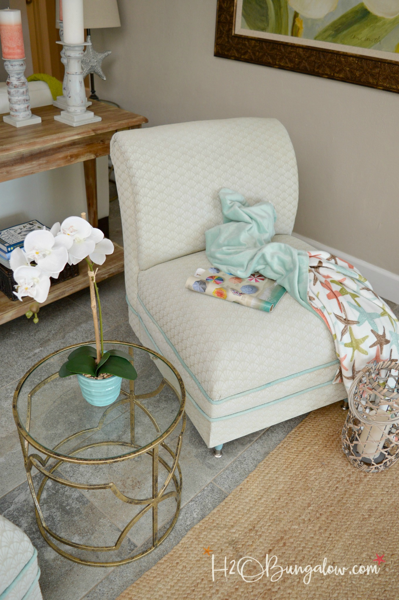 diy painted windsor chairs disney princess upholstered chair australia makeover tutorial h20bungalow