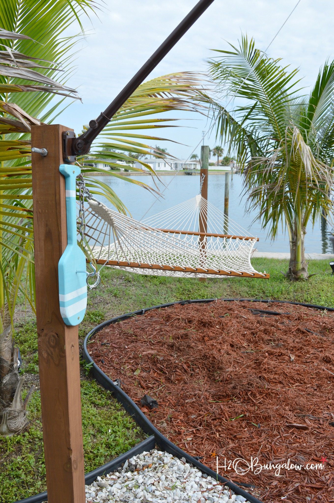 Freestanding DIY Hook and Ring Game Tutorial  H20Bungalow
