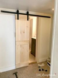 Interior DIY Double Barn Door Tutorial - H20Bungalow