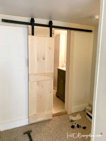 Interior Diy Double Barn Door Tutorial - H2obungalow