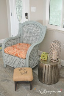 Paint Wicker Furniture