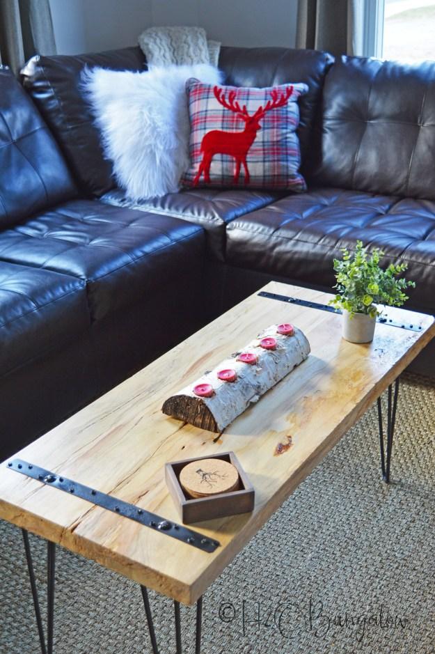 diy rustic coffee table tutorial - h20bungalow