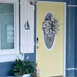 Video and tutorial on how to make exterior DIY shutters with sailboat cutouts from long lasting pvc. Download my free sailboat cutout pattern or see my tips to make your own decorative shutter cutouts. Exterior decorative shutters with designs cut out add charm and curb appeal and are easy to make!