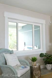 Simple Diy Craftsman Style Window Trim Tutorial - H2obungalow