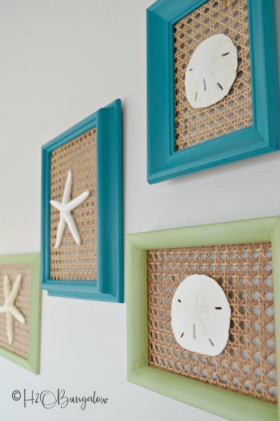 Creative seashell craft ideas for home decor that you can easily make using shells and starfish. Make your own coastal home decor with seashell craft ideas