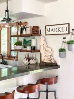 21 Open Shelving Kitchen Ideas You Can DIY   H2OBungalow