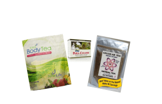 Detox Trio for parasites, intestinal and colon cleanse for better health