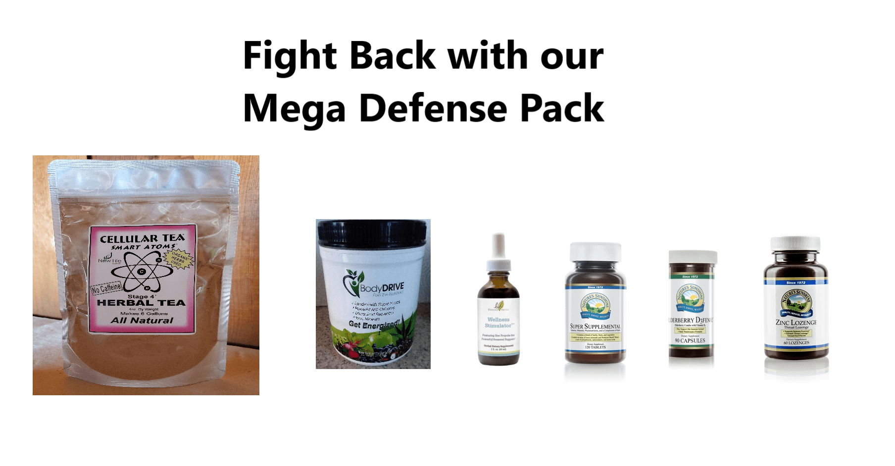 Mega Defense Immune System Builder