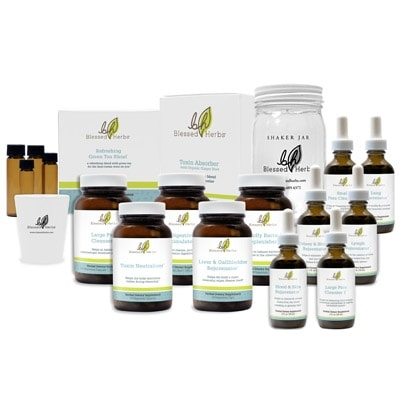 blessed herbs internal cleansing kit a complete full body cleansing program