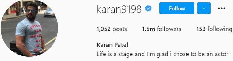 Biography of Karan Patel