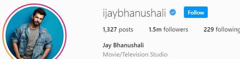 Biography of Jay Bhanushali