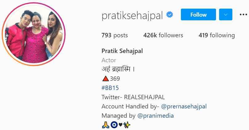 Biography of Pratik Sehajpal