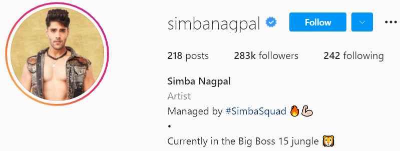 Biography of Simba Nagpal