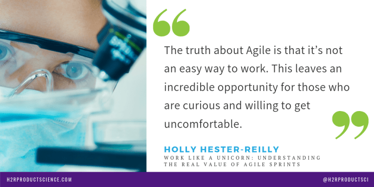 The truth about Agile is that it's not an easy way to work.