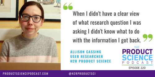 The Allison Cassing Hypothesis: When You Follow Your Interests, Your Work Will Be More Enjoyable