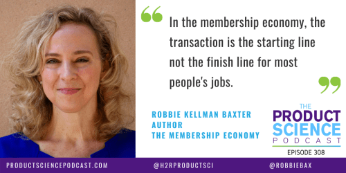 The Robbie Kellman Baxter Hypothesis: The Best Membership-Oriented Businesses Focus on the Long Term