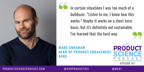 The Marc Abraham Hypothesis: Skilled Product Managers Leverage Tension to Make the Product Stronger