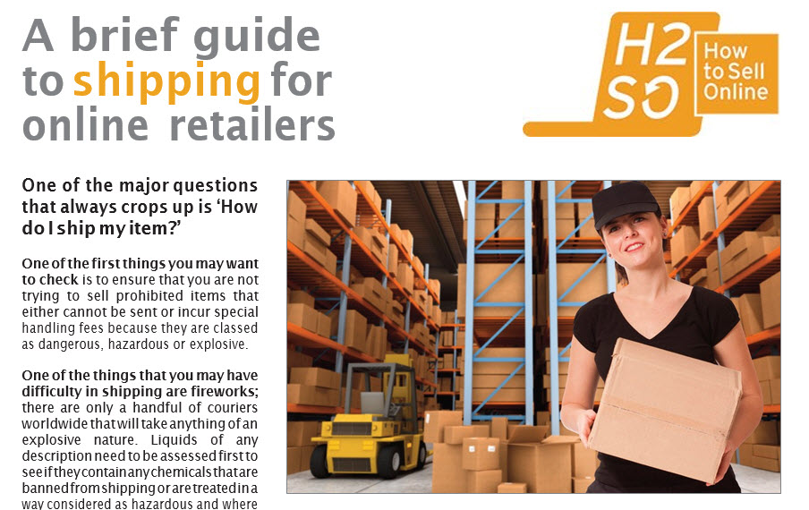 A brief guide to shipping for online retailers