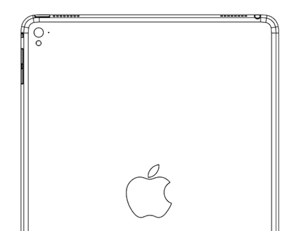 Ipad Air 3 New Leaked Drawing Hints Four Speakers