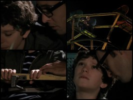 """At the top of the big wheel, Vincent tells Stanley that you can never wish to be dead. """"Never wish that!"""" and then tells him that he was grateful that he helped him learn to """"see"""". Stanley wishes Vincent were his father and Vincent tells him he's """"going to hear bad things about me.....Forgive me."""" (I.have.No.Words)"""
