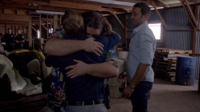 Jerry may give as good of a hug as McG. But with McG you get pressed against the FOY. McG 1 Jerry 0