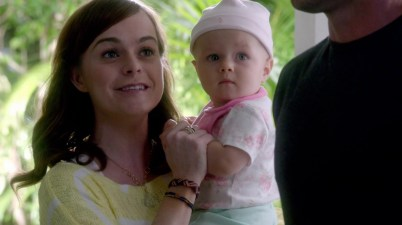 Aww look at Mary. So what if it's a bit unbelievable that she adopted a baby? Have you ever seen her look so happy? *Love*