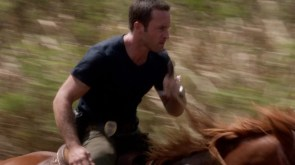 I think Steve should ride a horse in every episode.