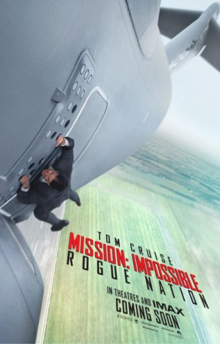 mission impossible 5 avion cascade