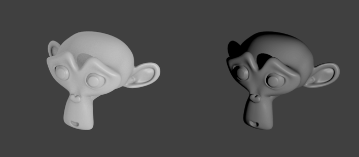 effet ambient occlusion blender