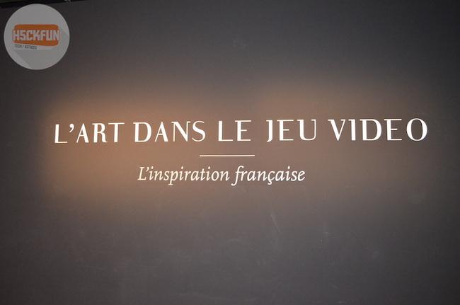 art dans le jeu-vidéo exposition