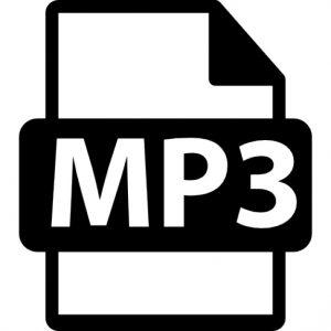 Symbole du format mp3