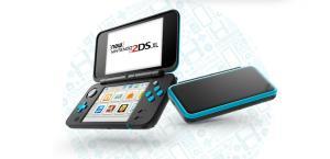Nintendo 2DS XL couleur noire-turquoise
