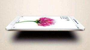 Vue de profil du Xiaomi Mi Max 2