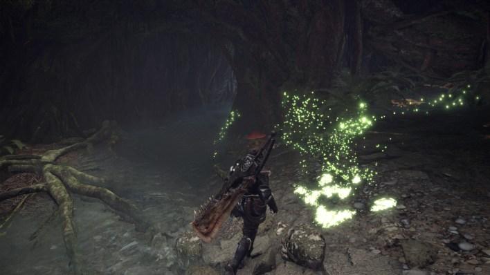 monster hunter world lucioles