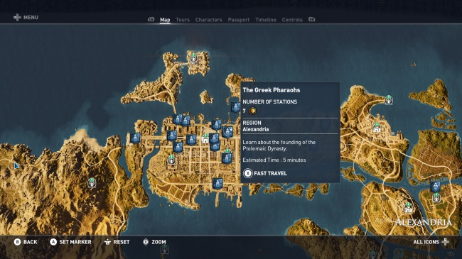 mode Discovery assassin's creed origins