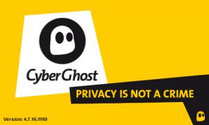 Cyberghost pour un Internet libre