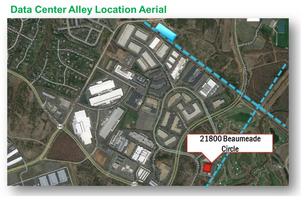 H5 Data Centers Ashburn Data Center is a Powered Shell Adjacent to the Heart of the Ashburn