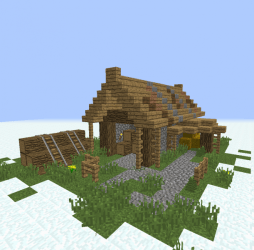 Medieval Simple Lumberjack Shack Blueprints for MineCraft Houses Castles Towers and more GrabCraft