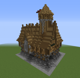 medieval town hall minecraft shell houses blueprints materials
