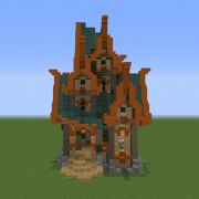 Search fantasy house Blueprints for MineCraft Houses Castles Towers and more GrabCraft